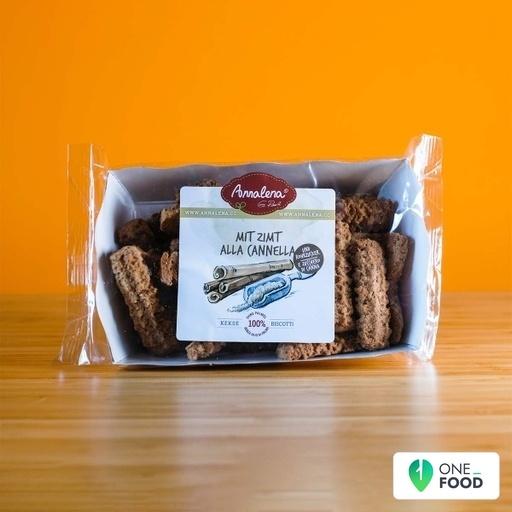 Biscotti Con Canella E Zucchero Di Canna